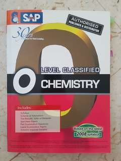 O-level Classified Chemistry (Revision)