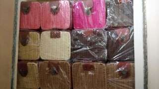 Onhand Rattan Bags (Square)