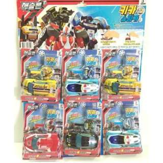🚚 「韓國帶回」正版授權 TOBOT系列玩具 迴力車玩具