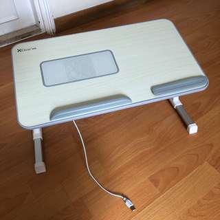 床上用可升降可折疊電腦托板