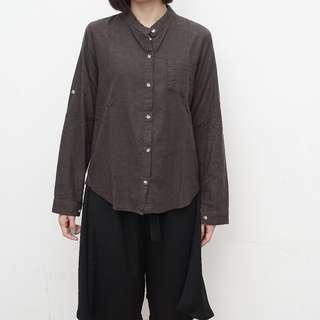 SooSoo - Khaki Shirt - Free Size