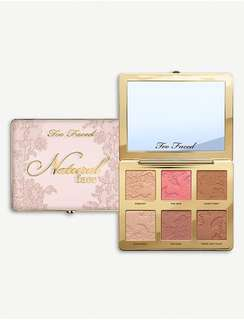 TOO FACED Natural Face Palette 23g