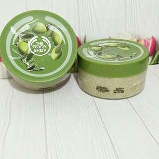 The Body Shop Body Scrub Olive