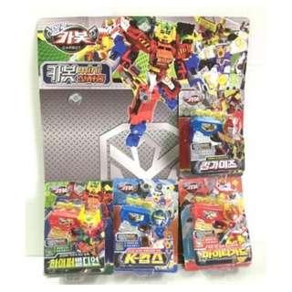 「韓國帶回」正版授權 TOITO 迷你電子槍玩具 燈光 聲音 韓國玩具