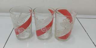 Vintage glasses 3 pieces