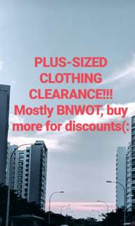 PLUS SIZE CLOTHING MASSIVE CLEARANCE