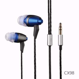 CX98 High Quality Earphones
