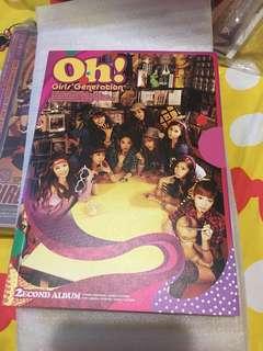 少女時代 少時 OH! 韓版專輯 CD Girls generation