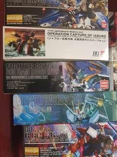Gundam MG HG SD Daban Bandai Kamen Rider Kits