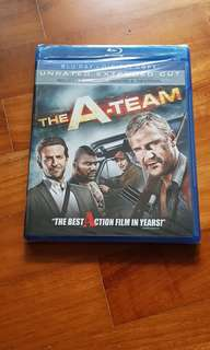 The A Team bluray