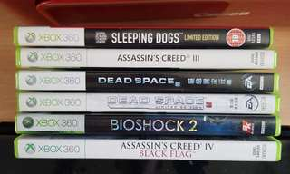 Pre-loved xbox 360 games