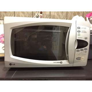 LG MICROWAVE OVEN INTELLOWAVE