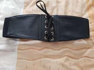 Corset black belt