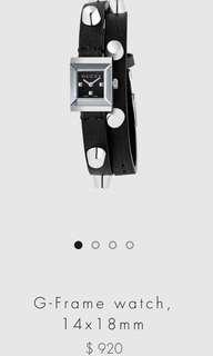 Gucci g frame watch