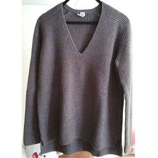 HERMES Brown / Blue Sweater