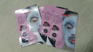 PUREDERM Deep Purifying Bubble 02 Mask -Volcanic