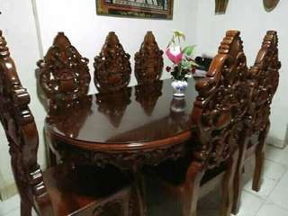 Narra Dining Table Set