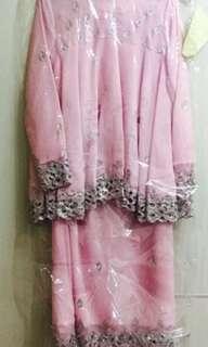 Shawlpublika pink set