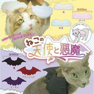 [盒玩] Qualia 貓咪天使與惡魔翅膀 白色天使翅膀