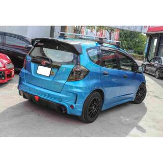 08 Honda Fit 藍 頂級版 旅行風