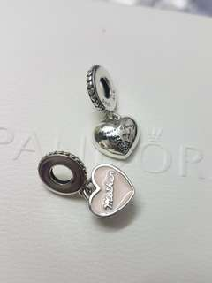Pandora Always in my heart dangle