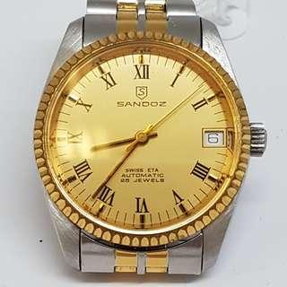 Sandoz Boysize Automatic Vintage Watch