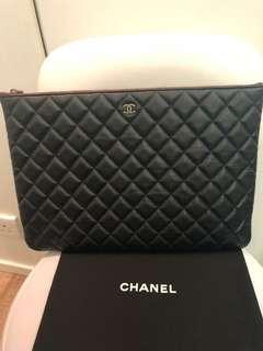 Chanel Large O Clutch