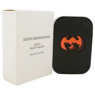 Tester: Gucci Guilty Black EDT 75ml( women)