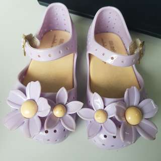 Mini Melissa Isabela Capeto Purple Size 6 s6 13cm baby toddlers shoes