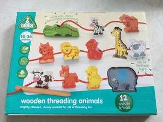 BN ELC threading wood toy