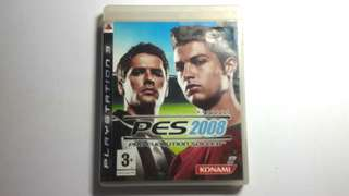 Ps3 Game PES 2008