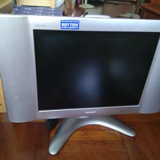 SHARP 20' LCD TV (MADE IN JAPAN)