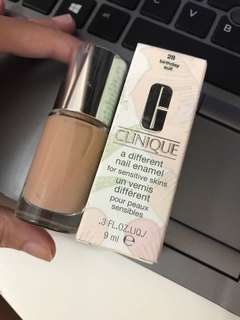 BNIB authentic Clinique nude Color nail polish