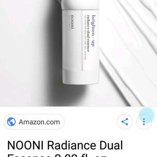 LOOKING FOR NOONI RADIANCE DUAL ESSENCE