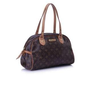 Louis Vuitton monogram tote shoulder bag (authentic)