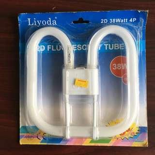 2D Fluorescent Tube Light