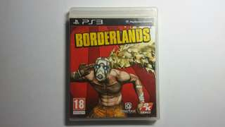 Ps3 Game BORDERLANDS
