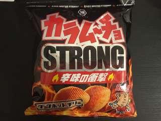 日本零食薯片代購