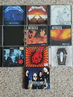 Metallica CD collection