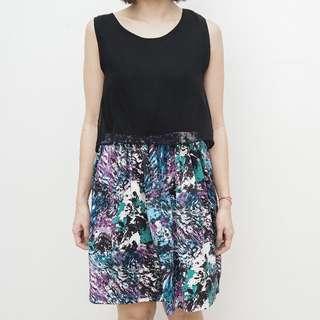 Kimza Dress - Fleur - Color : Black  - Size : ONE SIZE