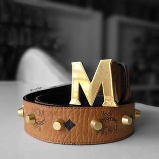Authentic MCM Belt