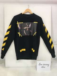 Authentic OFF White Opere 7 Sweatshirt New With Tags