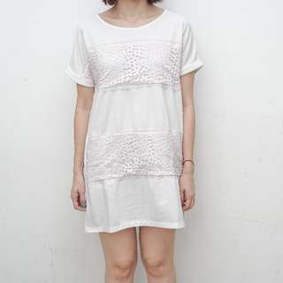 Ellery Dress - Hana & Co - Color : White - Size : One Size