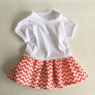 Kiddo dress for everyday (size for 1-3yo) RM8 postage