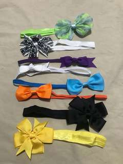 8pcs assorted Headband