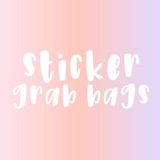 sticker grab bag !