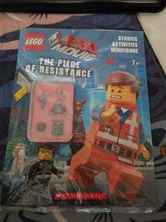 Authentic lego the lego movie the piece of resistance
