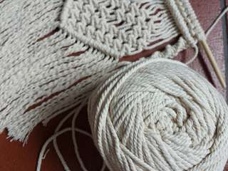 2mm 100m Macrame Cotton Rope DIY