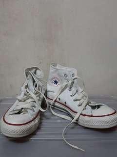 White High Cut Converse