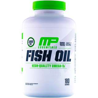 Musclepharm fish oil 180 softgels